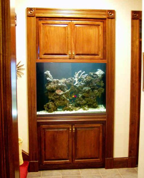 300 gallon built-in by Indoor Oceans